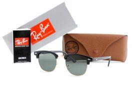 Солнцезащитные очки, Ray Ban Clubmaster 3016-52-20-141-black